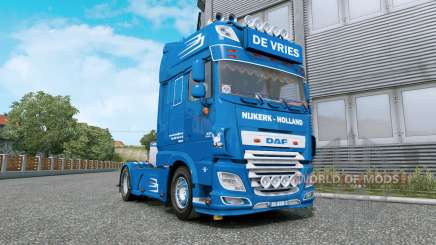 DAF XF De Vries v1.2 für Euro Truck Simulator 2