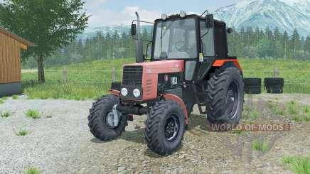 MTZ-82.1 Belarus weich-rot für Farming Simulator 2013