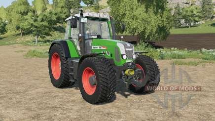 Fendt 818 Vario TMS north texas green pour Farming Simulator 2017