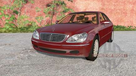 Mercedes-Benz S 600 (W220) 2002 pour BeamNG Drive