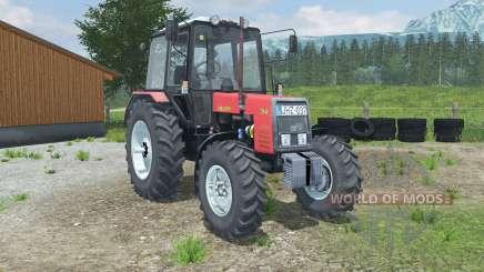 MTZ-Biélorussie 1025 rouge pour Farming Simulator 2013