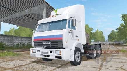 KamAZ-54115 Les Chauffeurs De Camion pour Farming Simulator 2017