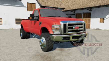 Ford F-350 Super Duty Regular Cab 2010 pour Farming Simulator 2017