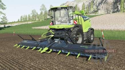 Krone BiG X pack pour Farming Simulator 2017