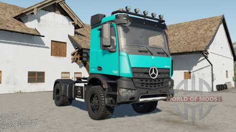Mercedes-Benz Arocs AS 4x4 für Farming Simulator 2017