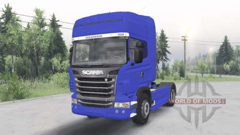 Scania R730 4x4 Topline cab 2009 pour Spin Tires