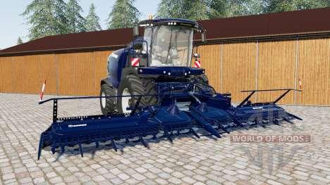 Krone BiG X 1100 pour Farming Simulator 2017