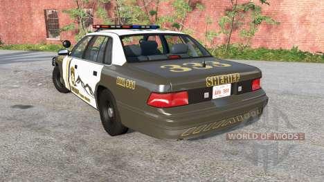 Gavril Grand Marshall Mano County Sheriff für BeamNG Drive