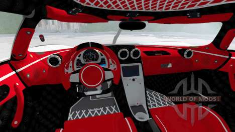 Koenigsegg Agera RS 2015 für BeamNG Drive