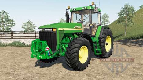 John Deere 8410 pour Farming Simulator 2017