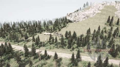 Montagne pour Spintires MudRunner