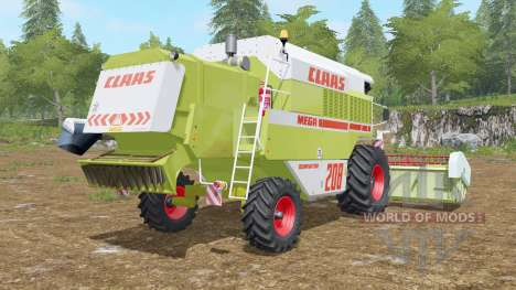 Claas Mega 208 Dominator für Farming Simulator 2017