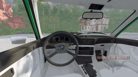 BMW 528i sedan (E12) 1977 pour BeamNG Drive