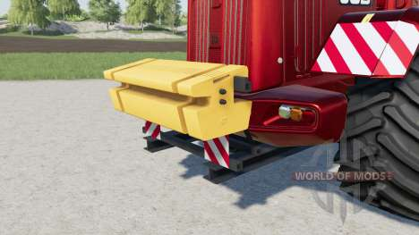 Rear Ballast Set from 1 to 5 tons pour Farming Simulator 2017