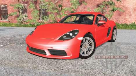 Porsche 718 Cayman (982C) 2016 pour BeamNG Drive