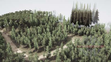 Birch grove pour Spintires MudRunner
