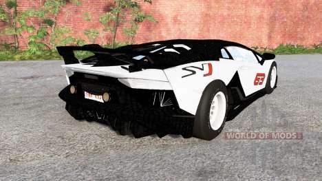 Lamborghini Aventador SVJ 2018 pour BeamNG Drive