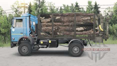 MAZ-5434 pour Spin Tires