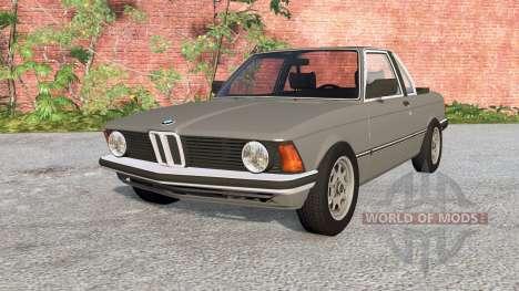 BMW 318i Top Cabriolet (E21) 1980 pour BeamNG Drive