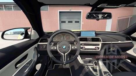 BMW M4 coupe (F82) für American Truck Simulator