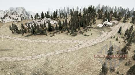 Nouvelle terre pour Spintires MudRunner