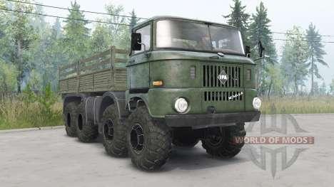 IFA W50 LA 8x8 für Spin Tires