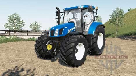 New Holland T6-series pour Farming Simulator 2017
