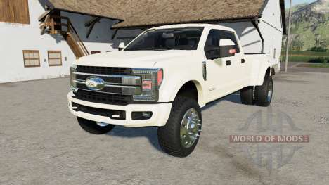 Ford F-450 Super Duty Platinum Crew Cab 2017 für Farming Simulator 2017