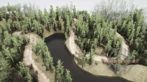 Sibirien menschenleer für Spintires MudRunner