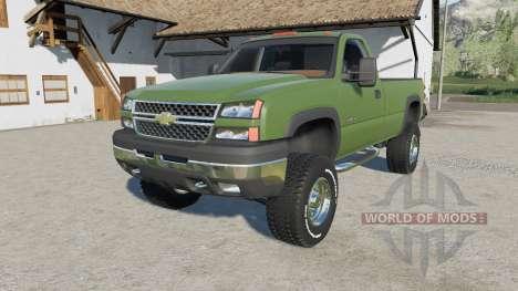Chevrolet Silverado 2500 HD Regular Cab 2006 pour Farming Simulator 2017