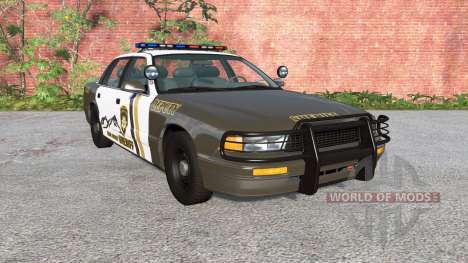Gavril Grand Marshall Mano County Sheriff pour BeamNG Drive
