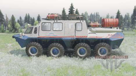 GAZ-59037 pour Spin Tires