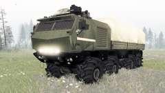 KamAZ-53958 Torado für Spin Tires