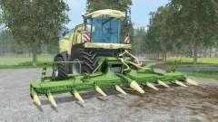 Krone BiG X 580 & EasyCollect 750 pour Farming Simulator 2015