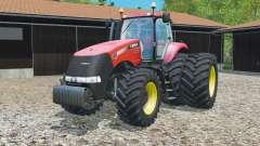 Case IH Magnum 380 CVT dynamic rear twin wheels pour Farming Simulator 2015