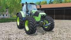 Deutz-Fahr 7250 TTV Agrotroɲ pour Farming Simulator 2015