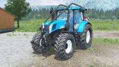 New Holland T7050 Foreꜱt pour Farming Simulator 2013