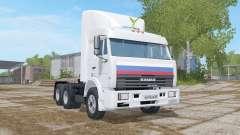 KamAZ-54115 poids 7400 kg. pour Farming Simulator 2017