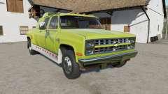 Chevrolet K30 Silverado Crew Cab Dually 1986 pour Farming Simulator 2017