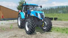 New Holland T7040 front loader pour Farming Simulator 2013