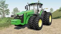 John Deeᶉe 8245R-8400R für Farming Simulator 2017