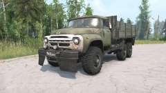 ZIL-130 g de 6x6 pour MudRunner