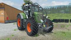 Fendt 828 Vario Forest Edition für Farming Simulator 2013