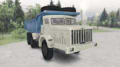 Der MAZ-530-beige-blau-Farbe für Spin Tires