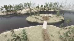 Barrière d'eau pour MudRunner