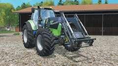 Deutz-Fahr 7250 TTV Agrotron frontlader für Farming Simulator 2015
