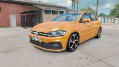 Volkswagen Polo R-Line (Typ AW) 2017 pour American Truck Simulator