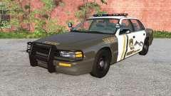 Gavril Grand Marshall Mano County Sheriff v1.1 pour BeamNG Drive