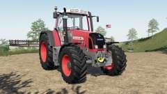 Fendt 800 Vario TMS added FL mounting frame für Farming Simulator 2017