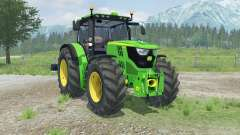 John Deere 6170R with weights pour Farming Simulator 2013